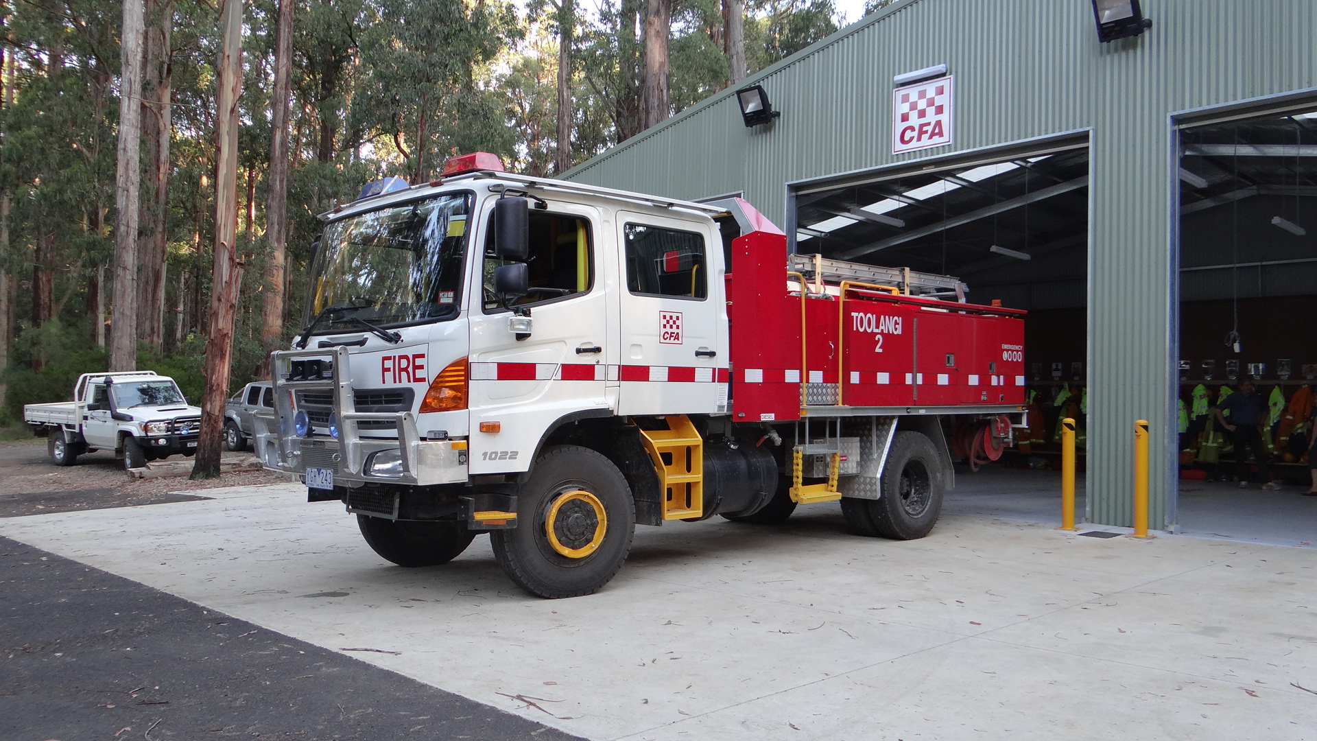 Toolangi Fire Station